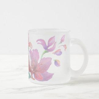 Hand-Drawn Flower Mug