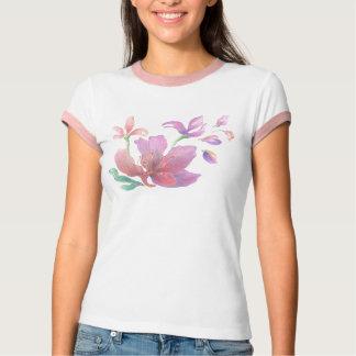 Hand-Drawn Flower Shirt