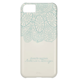 Hand Drawn Henna Circle Pattern Design Business iPhone 5C Cover