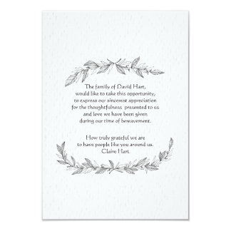 Bereavement Thank You Invitations & Announcements | Zazzle