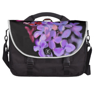 HAND DRAWN LILAC IMAGE LAPTOP BAGS
