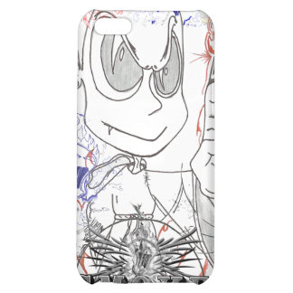 Hand Drawn Little Devils Cover For iPhone 5C