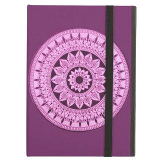 Hand Drawn Mandala iPad Case (Customizable colour)