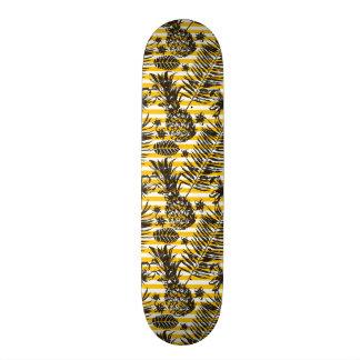 Hand Drawn Pineapples Skateboard Deck
