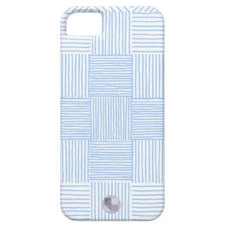 Hand Drawn Powder Blue Geometric iPhone 5/5S Case