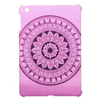 Hand Drawn Purple Mandala iPad Mini Case