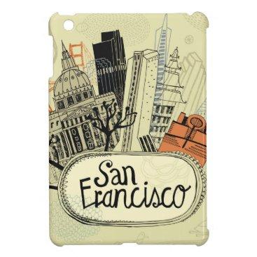 Hand Drawn San Francisco Case For The iPad Mini