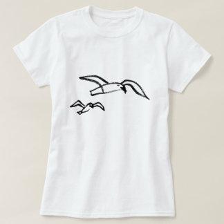 Hand Drawn Seagull T-Shirt