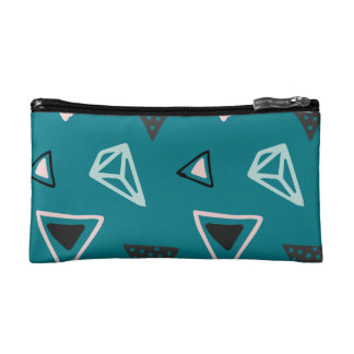 Hand Drawn Shapes Pattern (Customizeable Color!) Cosmetic Bag