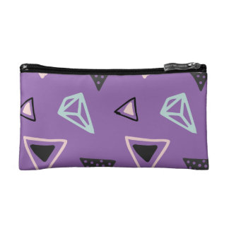 Hand Drawn Shapes Pattern (Customizeable Color!) Makeup Bag