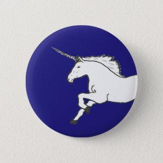 Hand Drawn Unicorn Pinback Button