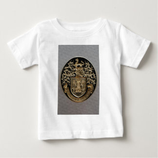 HAND ENGRAVED VINTAGE COAT OF ARMS TEE SHIRT