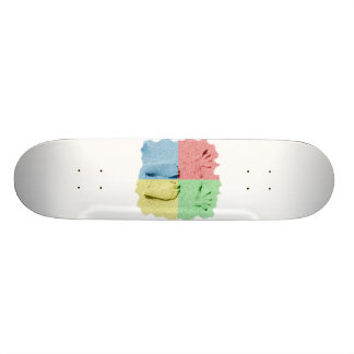 Hand Feet Prints in sand four color.png Skateboard