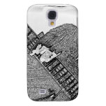 Hand fretting guitar bw sketch galaxy s4 cover