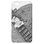 Hand fretting guitar bw sketch iPhone 5C cases