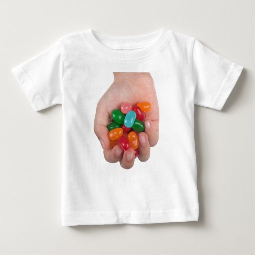 Hand full of jelly beans t shirts