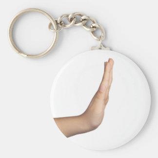 Hand gesture - Stop Keychain