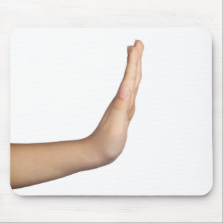 Hand gesture - Stop Mouse Pad