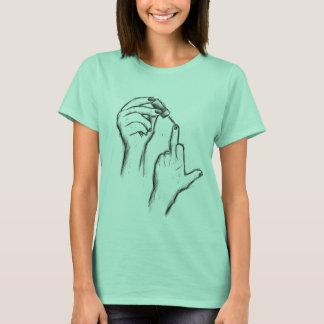 Hand Gesture Women T-shirt