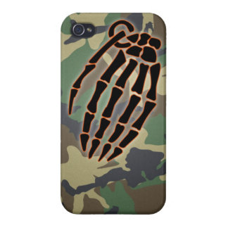 hand grenade bone phone case case for iPhone 4