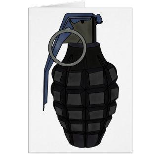 Hand Grenade Card