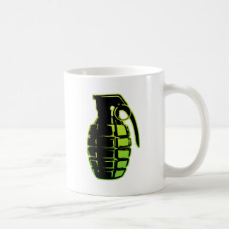 Hand Grenade - green Mug
