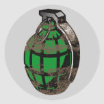 Hand Grenade Stickers