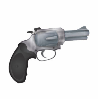 Hand Gun Photo Cutouts