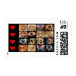 Hand/hearts Postage