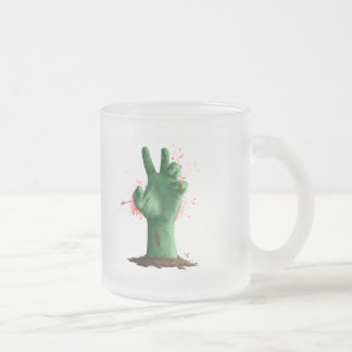 hand_hell3 frosted glass coffee mug