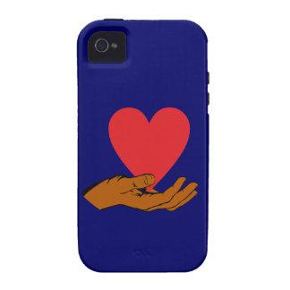 Hand Herz hand heart iPhone 4/4S Hüllen