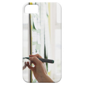 hand holding marker pen on school whiteboard iPhone SE/5/5s case