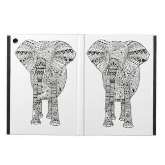 Hand Illustrated Artsy Elephant iPad Air Case