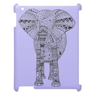 Hand Illustrated Artsy Elephant iPad Cases