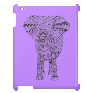 Hand Illustrated Artsy Elephant iPad Cover