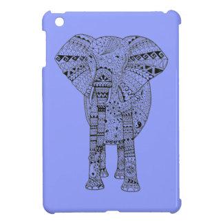 Hand Illustrated Artsy Elephant iPad Mini Cover