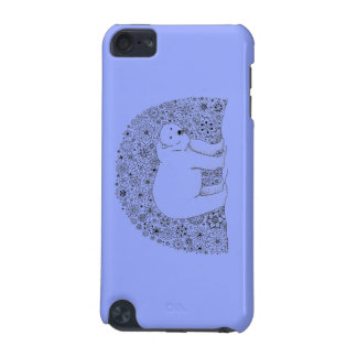 Hand Illustrated Artsy Floral Polar Bear iPod Touch 5G Case