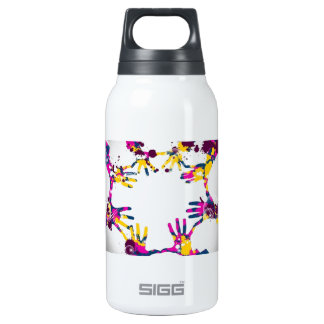 Hand in Hand 10 Oz Insulated SIGG Thermos Water Bottle