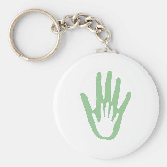 hand in hand keychain