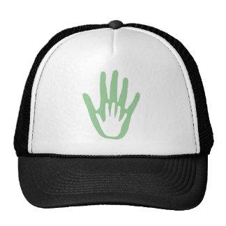 hand in hand trucker hat