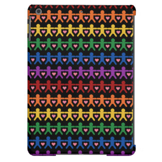 Hand in Hand with Love Pattern Art iPad Air Case