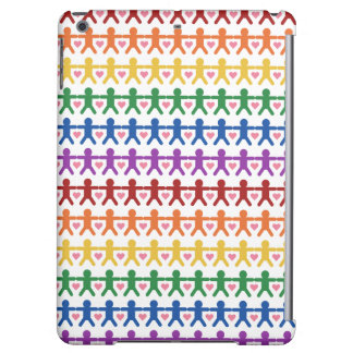 Hand in Hand with Love Pattern Art iPad Air Cases
