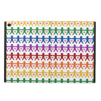 Hand in Hand with Love Pattern Art Powis iPad Air 2 Case