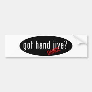 Hand Jive Items – got hand jive Bumper Sticker