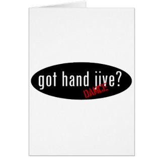 Hand Jive Items – got hand jive Card
