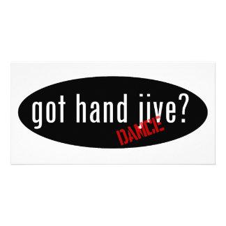 Hand Jive Items – got hand jive Photo Card Template