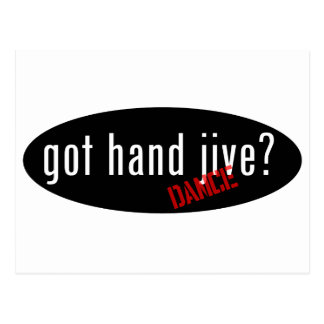 Hand Jive Items – got hand jive Postcard