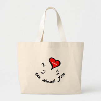 Hand Jive Items - I Heart the Hand Jive Tote Bag