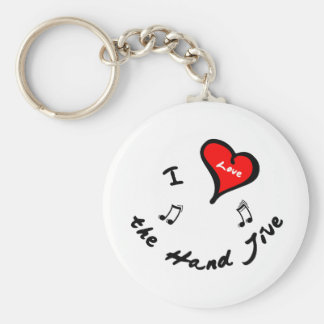 Hand Jive Items - I Heart the Hand Jive Keychains
