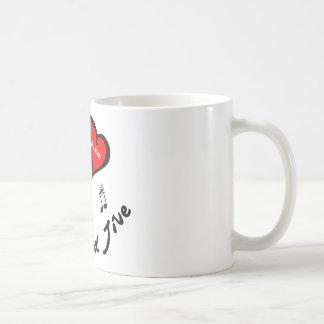 Hand Jive Items - I Heart the Hand Jive Coffee Mugs